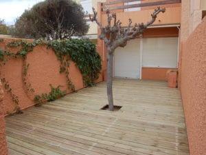 terrasse bois pin brico bois